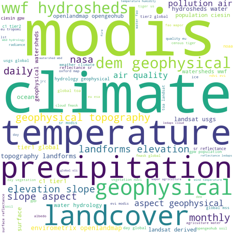earth-engine-data-catalog-word-cloud